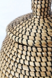 Seagrass Basket With Lid
