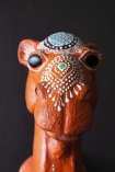 Tribal Decorated Camel Wall Hanging