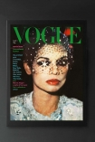 Unframed Vogue March 1974 Art Print By Barry Lategan