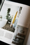 detail image of page in Urban Pioneer: Interiors inspired by industrial design on black table
