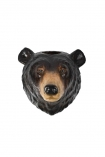 cutout Image of the Wall Hung Beautiful Bear Vase/Container on a white background