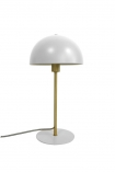 Image of the Art Deco Canopy Table Lamp - Matt White on a white background