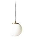 Image of the Atlas Globe Pendant Light on a white background