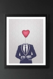 Unframed Mr Valentine Fine Art Print