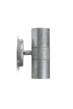 cutout image of St Ives Hot Dipped Up & Down Wall Light - Small on white background