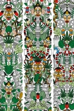detail image of pattern on NLXL JOB-05 L'Afrique Archives Wallpaper by Studio Job