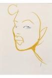 Unframed Silhouette 03 Art Print by Amelie Hegardt