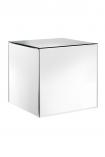 Venetian Mirrored Cube Side Table