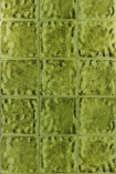 detail image of Designers Guild Aquarelle Wallpaper - Peridot PDG646/03 - ROLL green square tile repeated pattern