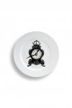 cutout image of Plate Clock - Paris on white background
