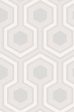detail image of Cole & Son Contemporary Restyled - Hicks' Grand Wallpaper - Ebony 95/6036 - ROLL honeycomb hexagon geometric repeated pattern