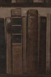 detail imaeg of Andrew Martin Navigator Collection - Library Bookshelf Wallpaper - Leather - ROLL