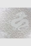 square detail image of Matthew Williamson Celestial Dragon Wallpaper - Grey W6545-04 - ROLL