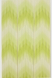 detail image of Matthew Williamson Danzon Wallpaper - Lime W6802-01 - SAMPLE smudges zig zag pattern