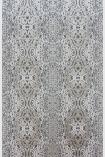 Metallic & Mica Linen/Cacao turquino wallpaper close up image