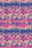 cutout image of 17 Patterns Brushed Herringbone Wallpaper - Pink - SAMPLE pink blue and white smudged repeated pattern
