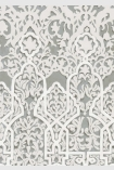 detail image of pattern on Lewis & Wood Petra Wallpaper - Moonstone - ROLL