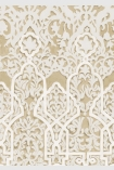 detail image of Lewis & Wood Petra Wallpaper - Sand - ROLL