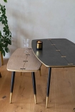 Image of both of the Art Deco Mid-Century Modern Coffee Tables
