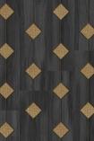 NLXL MRV-18 Vintage Diamond Webbing Wallpaper by Mr & Mrs Vintage - Grey - ROLL