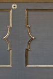 NLXL MRV-23 Wainscoting Panel Border Wallpaper by Mr & Mrs Vintage - Grey - SAMPLE