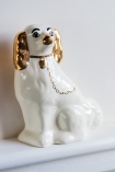 Image of the right Hand Painted UK Made Cavalier King Charles Spaniel Dog Coin Bank