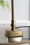 Image of the Small Brass Traditional Table Lamp