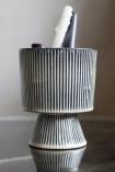 Image of the Large Striped Goblet Pot