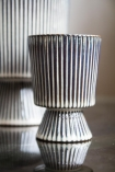 Image of the Small Striped Goblet Pot