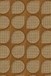 NLXL VOS-09 Vintage Drops Webbing Wallpaper by Studio Roderick Vos - Oak - ROLL