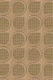 NLXL VOS-10 Vintage Drops Webbing Wallpaper by Studio Roderick Vos - Maple - ROLL