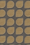 NLXL VOS-12 Vintage Drops Webbing Wallpaper by Studio Roderick Vos - Grey - ROLL