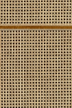 NLXL VOS-14 Vintage Square Webbing Wallpaper by Studio Roderick Vos - Oak - SAMPLE