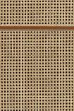 NLXL VOS-16 Vintage Square Webbing Wallpaper by Studio Roderick Vos - Mahogany - SAMPLE