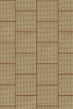 NLXL VOS-16 Vintage Square Webbing Wallpaper by Studio Roderick Vos - Mahogany - ROLL