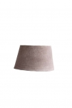 cutout image of Dusky Pink Sumptuous Velvet Lamp Shade - Small on white background