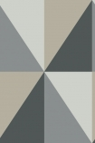 Cole & Son Geometric II - Apex Grand Wallpaper - 5 Colours Available