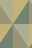 Cole & Son Geometric II - Apex Grand Wallpaper - 5 Colours Available