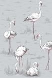 Cole & Son New Contemporary - Flamingos Wallpaper - 4 Colours Available