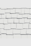 square detail image of Engblad & Co Front Squares Wallpaper 4061 - ROLL overlapping white square tiles repeated pattern