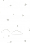 Hibou Home Starry Sky Children's Wallpaper - 2 Colours Available