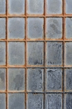 detail image of Mind The Gap The Factory Collection - Foundry Wall Wallpaper - WP20250 - ROLL grey distressed tiles with rust effect grout repeated pattern