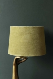 Peridot Green Sumptuous Velvet Lamp Shade - Available in 3 Sizes