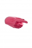 cutout image of Pointing Hand Wall Art & Coat Hook - Hot Pink on white background