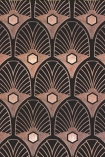 detail image of Mind The Gap Metropolis Collection - Obsession Wallpaper - WP20229 - ROLL