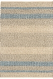 cutout image of Fields Stripey Rug - Sky - 160cm x 230cm on white background