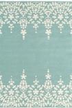 Matrix 100% Wool Rug - Blue