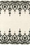 Matrix 100% Wool Rug - White