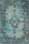 cutout image of Revive Wool Rug - Blue on white background