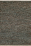 cutout image of Soumak Jute Rug - Grey on white background